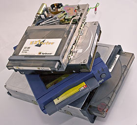 Old drives