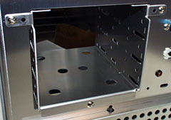 Removable 3.5 inch bays