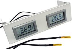 Lian Li temperature display module