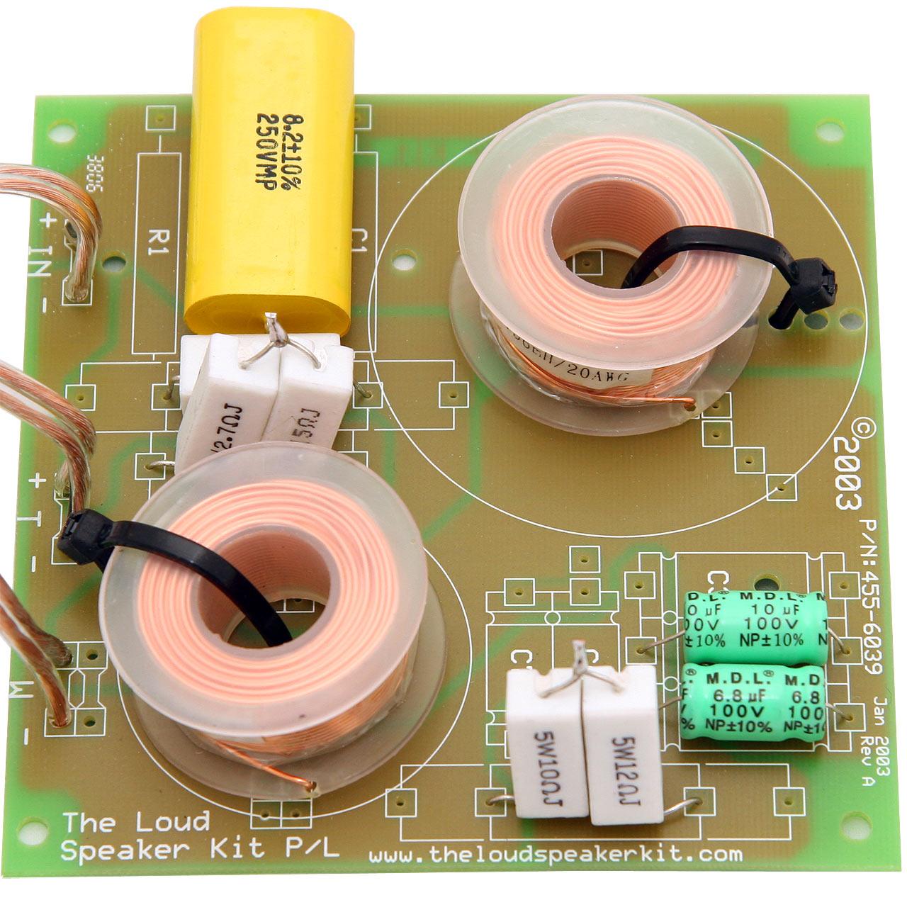 Speaker Crossovers Circuit Diagrams