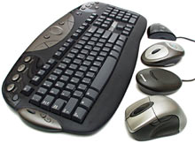 Cordless input devices