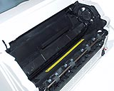 Toner cartridge, installed