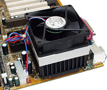 Alpha PAL8045 CPU cooler