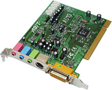 Abit AU10 sound card