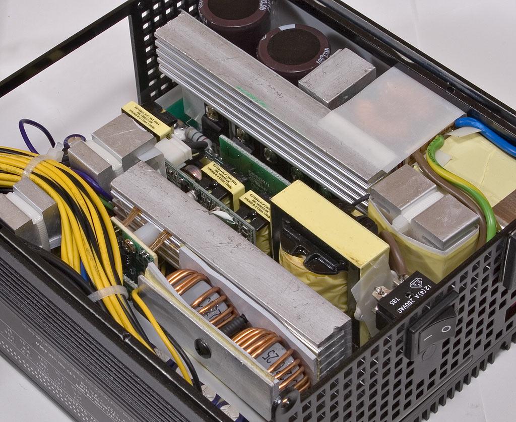 Review Antec Phantom 500 Power Supply Atx12v Tester Inside Detail