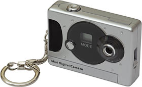 Tiny digicam