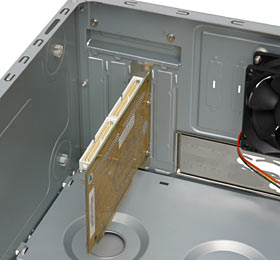 Card mounting system