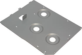 Motherboard mounting plate