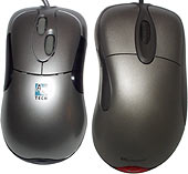 Mouse size comparison