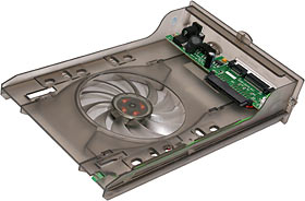 SATA box drive tray