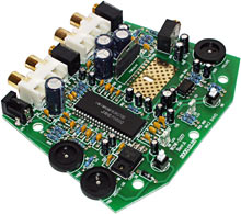 RumbleFX Amplifier circuit board