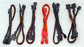 GTR 600w Power supply leads