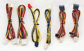 GTR 750w Power supply leads