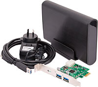 USB 3 enclosure and controller card kit
